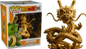 Funko Pop Dragon Ball Z Shenlong Shenron Gold Exclusivo #265