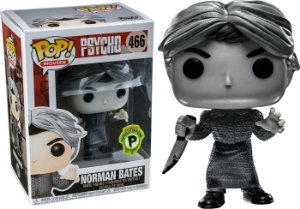Funko Pop Terror Psicose Psycho Norman Bates Black White Exclusivo #466