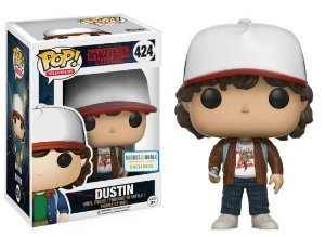 Funko Pop Stranger Things Dustin with Jacket Exclusivo #424
