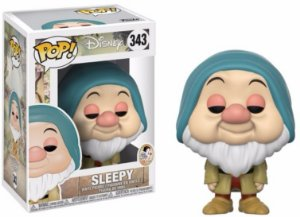 Funko Pop Disney Branca De Neve Anão Soneca Sleepy #343