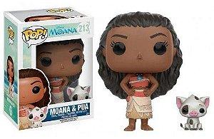 Funko Pop Disney Moana e Pua #213
