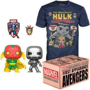 Funko Box Marvel Collector Corps First Appearance Avengers