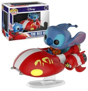 Funko Pop Rides Disney The Red One Stitch #35