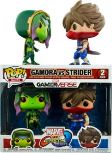 Funko Pop Marvel Vs Capcom Gamora vs Strider 2-Pack
