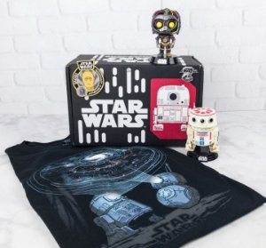 Funko Box Star Wars Exclusivo Smugglers Bounty Droids