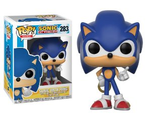 Funko Pop Sonic The Hedgehog - Sonic with Rings #283