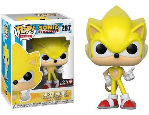 Funko Pop Sonic The Hedgehog  Super Sonic Exclusivo Gamestop #287