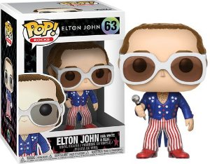 Funko Pop Elton John Red White and Blue #63