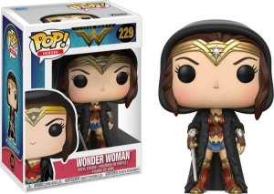Funko Pop Dc Wonder Woman Cloaked #229