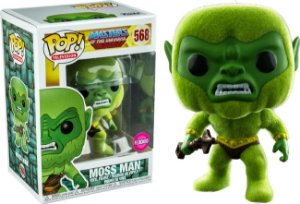 Funko Pop Master of Universe Moss Man Flocked Exclusivo #568
