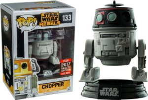 Funko Pop Star Wars Chopper Exclusivo Galatic Convention #133