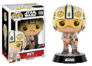 Funko Pop Star Wars Rey Xwing Helmet Exclusivo #119