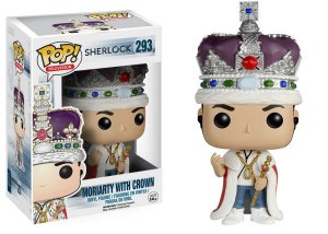 Funko Pop Sherlock Moriarty with Crown #293