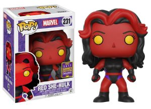 Funko Pop Marvel Red She Hulk Exclusiva SDCC #231