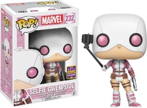 Funko Pop Marvel Selfie Gwenpool Exclusiva SDCC #232