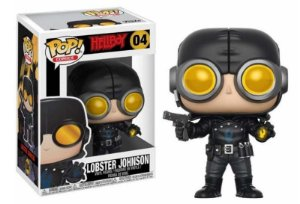 Funko Pop Hellboy Lobster Johnson #04