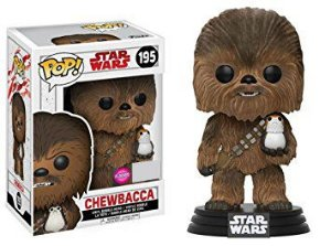 Funko Pop Star Wars Chewbacca Flocked Exclusivo #195