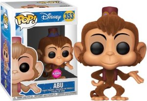 Funko Pop Disney Aladdin Abu Flocked Exclusivo #353