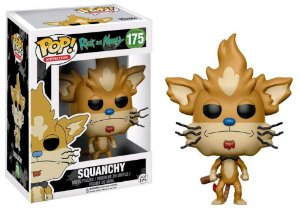 Funko Pop Rick and Morty Squanchy #175