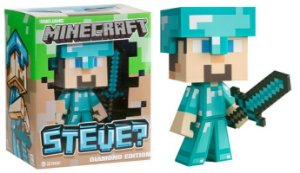 Minecraft Steve Diamond Edition Vinil