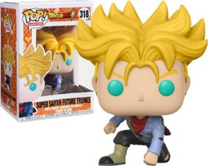 Funko Pop Dragon Ball Z Super Saiyan Future Trunks Exclusivo #318