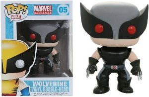 Funko Pop Marvel Wolverine Gray Exclusivo #05