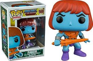 Funko Pop He-Man Masters of Universe Faker Exclusivo #569