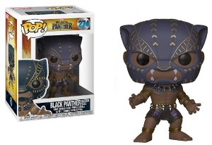 Funko Pop Marvel Pantera Negra Black Panther Warrior Fall #274