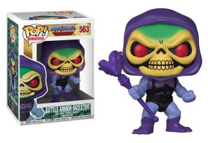 Funko Pop Masters Of Universe Battle Armor Skeletor Esqueleto #563