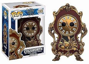 Funko Pop Disney A Bela e a Fera Cogsworth Relógio #245