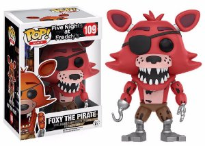 Funko Pop Five Nights At Freddys FNAF Foxy The Pirate #109