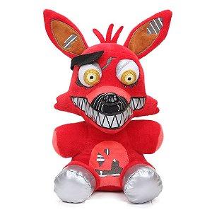 Pelúcia Five Nights At Freddys FNAF Nightmare Foxy