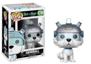 Funko Pop Rick and Morty Snowball #178