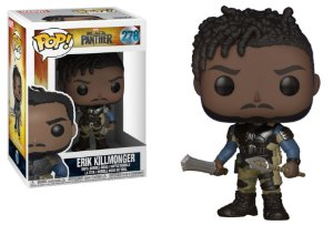 Funko Pop Marvel Black Panther Erik Killmonger #278