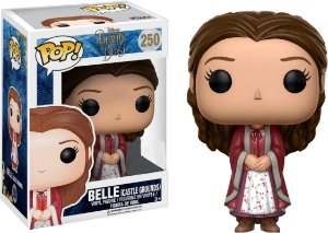 Funko Pop Disney A Bela E Fera - Bela Castle Ground #250
