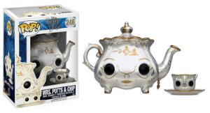 Funko Pop Disney A Bela e a Fera Mrs Potts e Chip #246