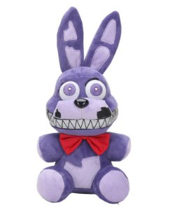Pelúcia Five Nights At Freddys FNAF Nightmare Bonnie