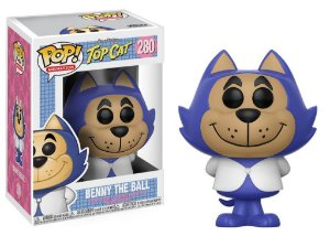 Funko Pop Hanna Barbera Top Cat Benny the Ball Manda Chuva #280
