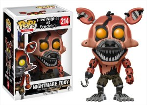 Funko Pop Five Nights At Freddy FNAF Nightmare Foxy #214