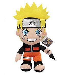 Pelúcia Naruto Shippuden com Kunai