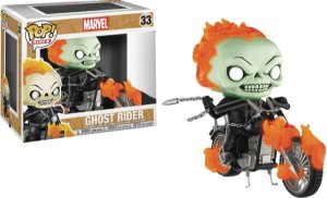 Funko Pop Rides Marvel Ghost Rider Exclusivo Glows #33
