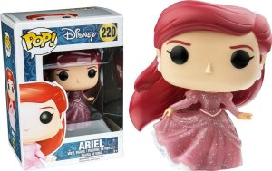 Funko Pop Disney Ariel Glitter Exclusiva #220
