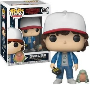 Funko Pop Stranger Things Dustin e Dart Exclusivo #593