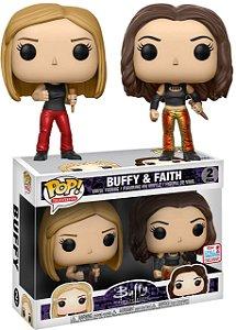Funko Pop Buffy A Caça Vampiros Buffy E Faith Exclusivo Nycc