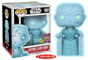 Funko Pop Star Wars Supreme Leader Snoke Exclusivo Sdcc #182