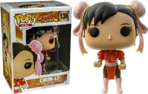 Funko Pop Street Fighter Chun Li Red Exclusiva #136