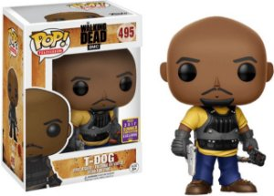 Funko Pop The Walking Dead T-dog Exclusivo Sdcc #495