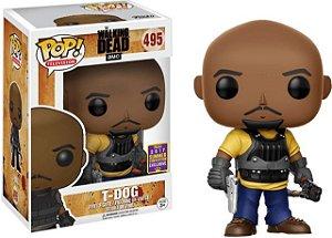 Funko Pop The Walking Dead T-dog Exclusivo Sdcc #495