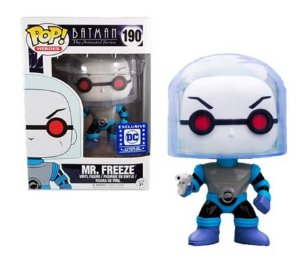 Funko Pop Dc Batman The Animated Series Mr Freeze Exclusivo #190