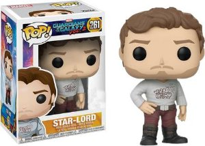Funko Pop Marvel Guardiões Da Galáxia Vol 2 Star Lord #261